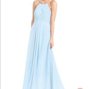 Sky Blue Azazie Bridesmaid/formal dress